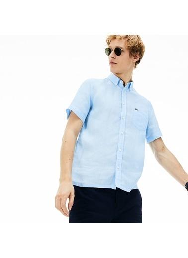 Lacoste Erkek  Gömlek CH4991.G5J Mavi